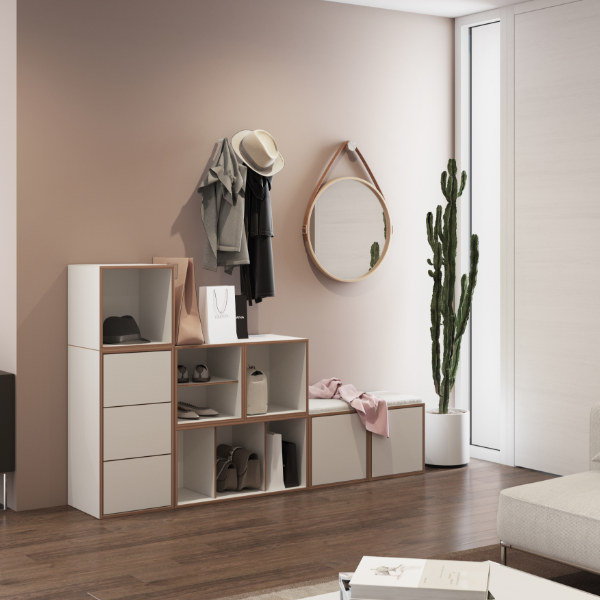 BOB Adaptable Storage Solutions Shelves Shelf Square