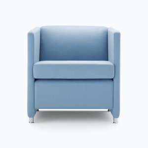 Jac Reception Chairs Soft Seating Armchair Blue