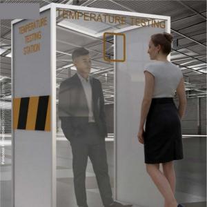 Temperature Check Station