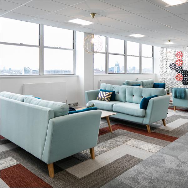 Blue sofas catalogue picture