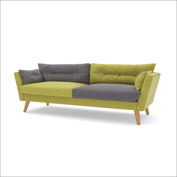 Urban Sofa three-seater picture on white background