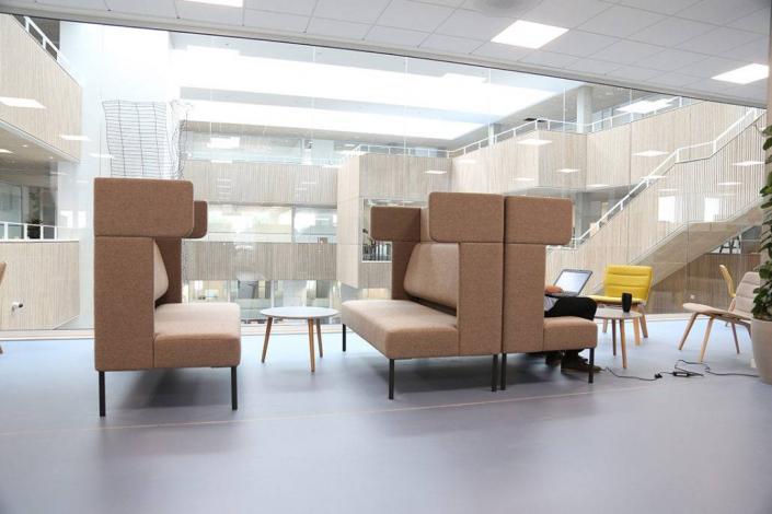 Image if the hospitality interior design by Henning Larsen Architects