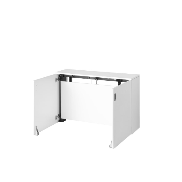 White space-saving desk