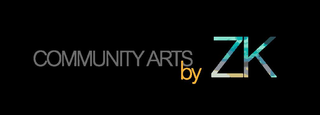 Community Arts by ZK logo