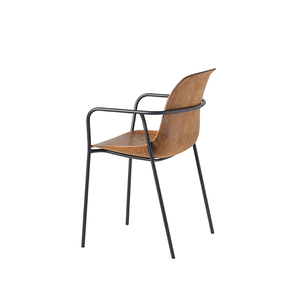 Hemp Chair Shell with armrests